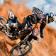 Action image of a off road bike for tamron 70-200 F2.8 test and review shot with a tamron lens singer photographic workshop, sandton, northern suburbs, bryanston, johannesburg, fourways by ben bergh of ben bergh photography