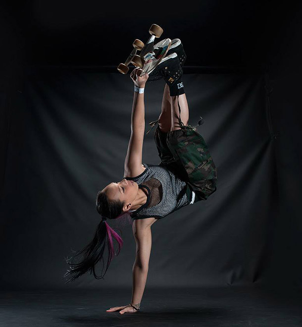 Courtnae' Paul Freestyle dancer by Ben Bergh Photography